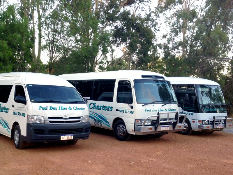 Peel Bus Hire and Charter - Mandurah Perth Mini Bus Hire