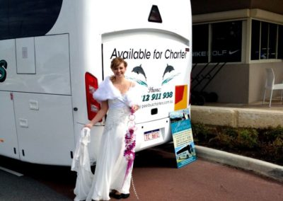 Peel Bus Hire and Charter - Mandurah Perth Wedding Charter Packages
