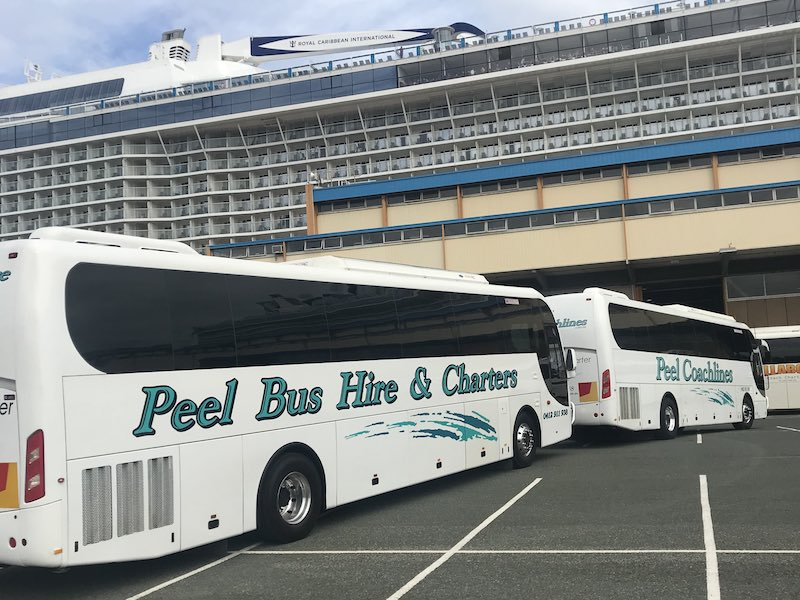 Peel Bus Hire Coachlines Cruise Tours