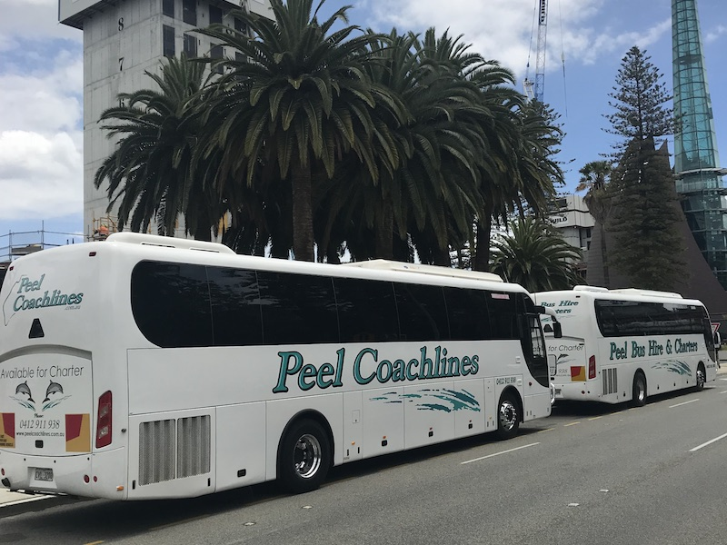 Peel Coachlines and Bus Hire Tours